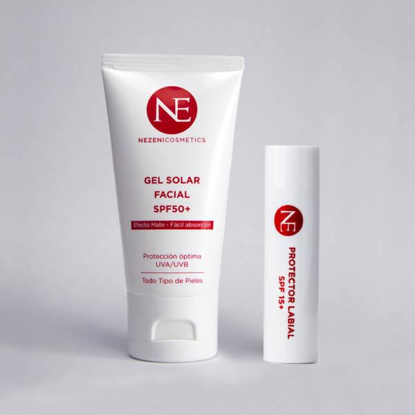 Pack Solar Rostro Nezeni Cosmetics