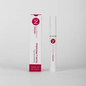 tratamiento sérum pestañas y cejas Nezeni Cosmetics