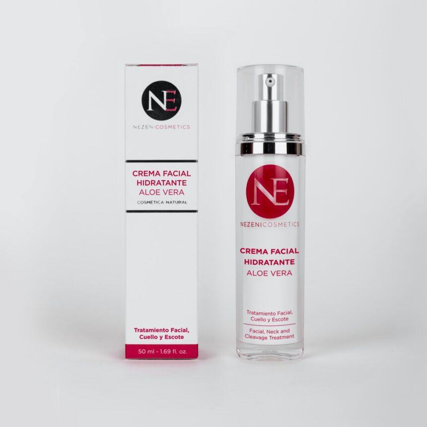 Crema hidratante con Aloe Vera de Nezeni Cosmetics