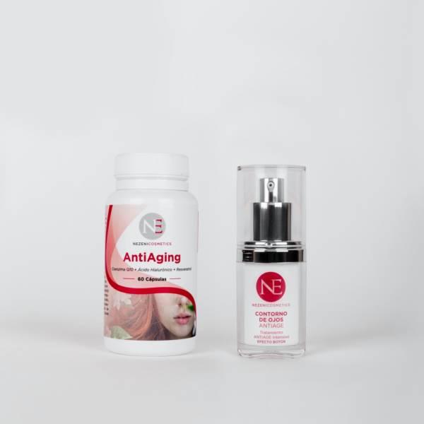 Pack Cápsulas + Contorno de ojos Nezeni Cosmetics