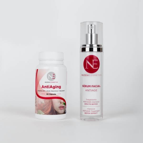 Pack Cápsulas + Serum antiage Nezeni Cosmetics
