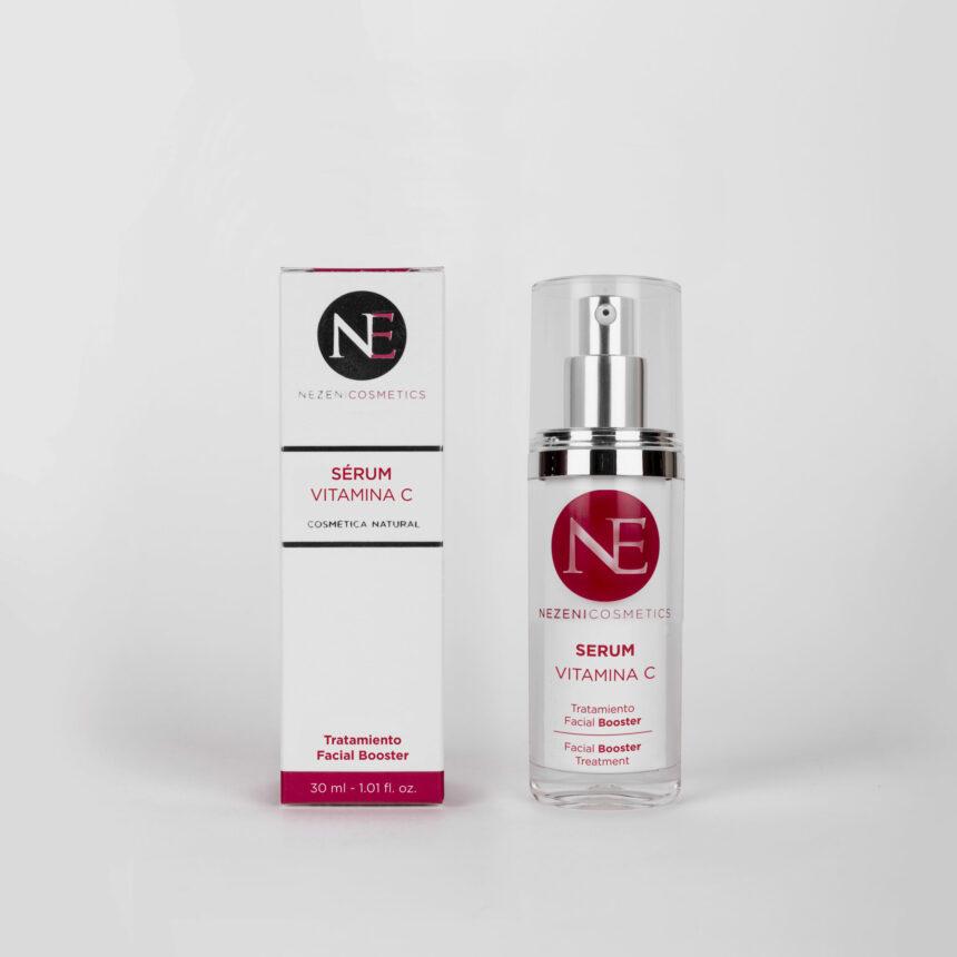 Serum Vitamina C Nezeni Cosmetics con caja